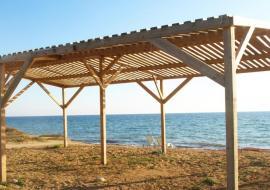 Уютный отель на самом берегу моря