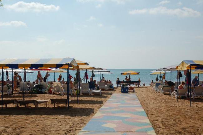 Крым база отдыха Феодосия