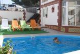 Крым отель Феодосия  первая береговая линия бассейн